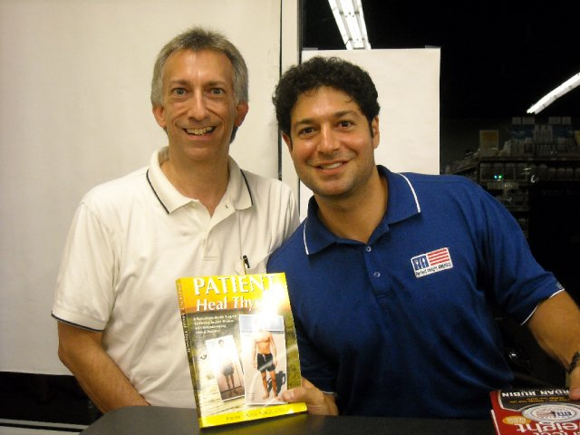 Me With Jordan Rubin, CEO Of Garden Of Life And Author Of Patient Heal  Thyself, At His Lecture And Book Signing In Palm Bay On June 3, 2008.